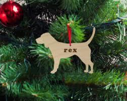 wood beagle ornament etsy