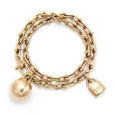 tiffany bracelet pearl images City hardwear gold wrap bracelet tiffany co the jewellery jpg