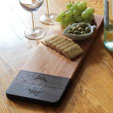 wedding gift cutting board personalized cheese board customized cheese board custom cutting