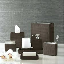 Bathroom Accessories Sets Brown Bathroom Accessories Sets U2013 Bathroom Ideas