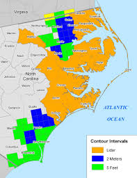 Wilmington Nc Map More Sea Level Rise Maps Of North Carolina