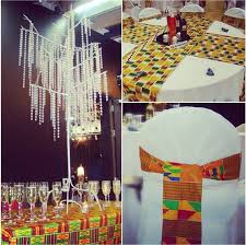 table sashes kente cloth sashes and table runners roseline b events