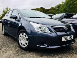 toyota avensis used toyota avensis blue for sale motors co uk