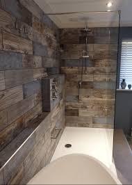 reclaimed wood effect tiles interiors pinterest woods wet