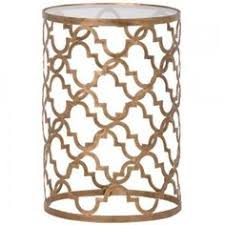 small gold side table koi gold side table found on polyvore top home products