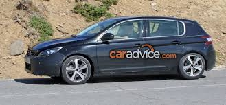 peugeot cars 2017 2017 peugeot 308 facelift spied photos 1 of 9