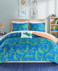 mi zone kids kyle the crocodile bedding sets bed in a bag bed