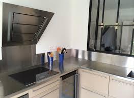 inox cuisine cuisine inox sur mesure évier mobilier table crédence plan