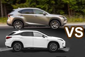 jeep lexus 2016 2016 lexus nx vs 2016 lexus rx 350 f sport design youtube