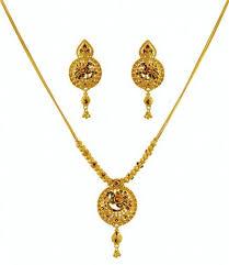 gold pendant necklace set images 22k gold peacock necklace set jewelleries pinterest peacock jpg