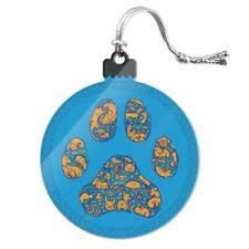 Zebra Print Christmas Tree Decorations by Animal Print Ornaments Ebay