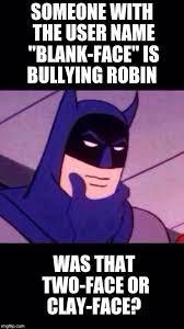 Batman Face Meme - thinking batman imgflip
