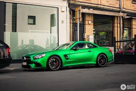 green mercedes benz amg green hell magno mercedes amg sl63 is a devil u0027s avocado