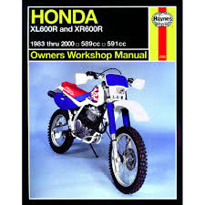 manual haynes for 1986 honda xl 600 lmf ebay