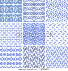 blue pattern background html blue seamless pattern background set vector stock vector 201832600