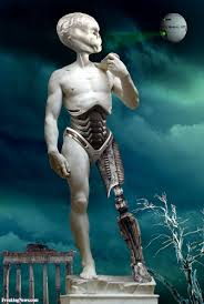 alien statue of david pictures freaking news