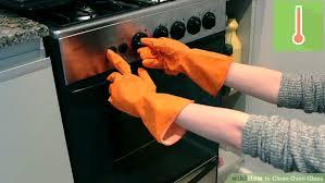 clean oven glass door 3 ways to clean oven glass wikihow