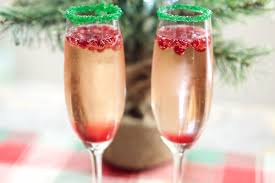 christmas martini recipes christmas champagne cocktail recipe cooking with janica