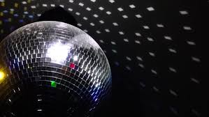 Rotating Disco Ball Light Rotating Disco Ball With Beautiful Rays Stock Footage