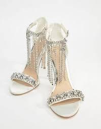 wedding shoes wedding shoes bridal white heels asos