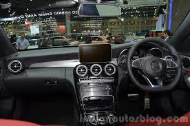 mercedes c class dashboard 2015 mercedes c class estate thailand motor expo 2014