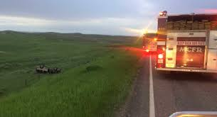 8 injured in rollover crash south of miles city krtv news in