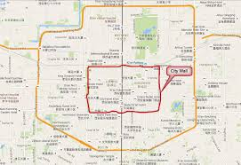 map of xi an xian maps xian tour maps travel maps of xian