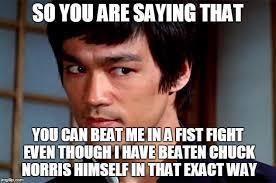Bruce Lee Meme - skeptical bruce lee memes imgflip