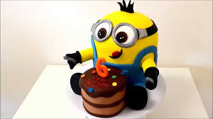 minion birthday cake new minion birthday cake with small cake in front