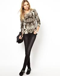 cheetah halloween costume zadig u0026 voltaire cashmere knit jumper in snake print lyst