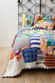 magical thinking boho stripe bedding with bohemian bedding style