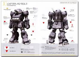 armored trooper votoms armored trooper master file atm 09 st scopedog art book anime books