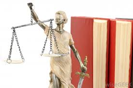 Justice Is Blind What Are The Scales Of Justice With Pictures