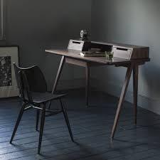 Schreibtisch Walnuss Ercol Treviso Desk Home Designer Schreibtisch Aus Eiche Oder Walnuss