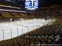 bridgestone arena section 103 seat views seatgeek