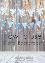 digital backdrops how to use digital backdrops moving lines