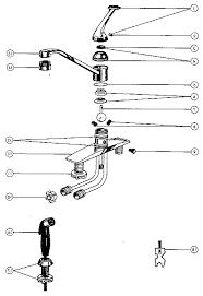 peerless kitchen faucet parts diagram best faucets decoration
