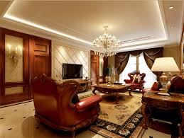 Classic Livingroom Classic Interior Design Idea Fashion Leaves Style Remains
