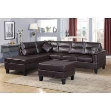 Ottoman Sofa Sectional Sofa With Ottoman Wayfair