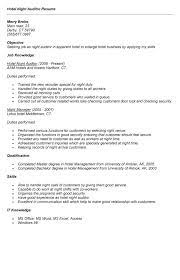 Night Auditor Job Description Resume by Night Auditor Resume Best Template Collection