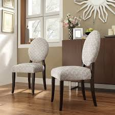 fabric roll back dining room chairs fabric dining room chairs
