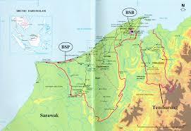 Brunei Map Brunei For Geoscientists