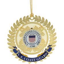 chemart u s coast guard logo ornament ornaments toppers