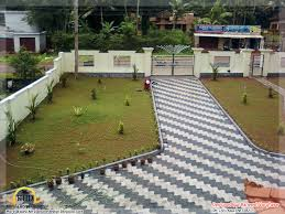 Landscaping Design Ideas Kerala Home Floor Plans Building Plans