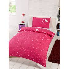 glow in the dark single duvet set pink bedding duvet sets