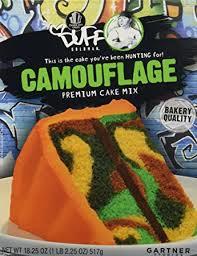camoflauge cake duff decorating mix cake camouflage grocery