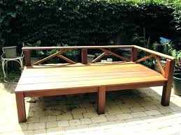 day bed plans wooden outdoor daybed astechnologies info