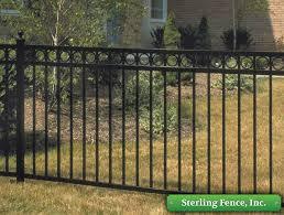 jerith aluminum fence minneapolis mn fencing dealer
