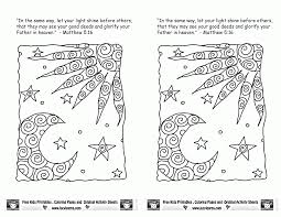 jesus is the light coloring page coloring home