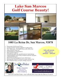 lake san marcos golf course home for sale